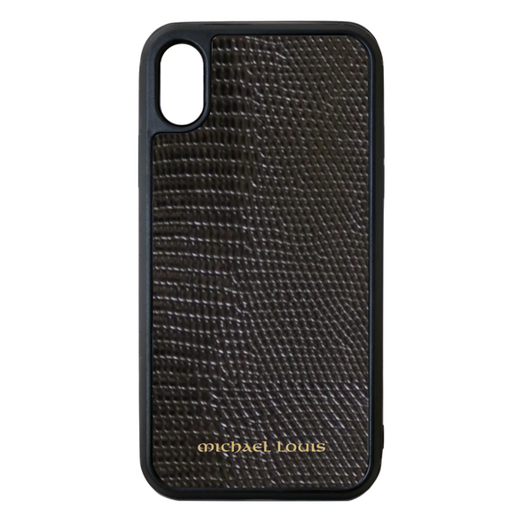 Black Lizard iPhone XS Max Case