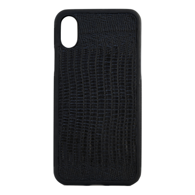 Black Lizard iPhone X Case