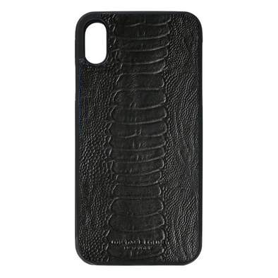 Black Ostrich iPhone XS Max Case