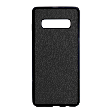 Black Pebbled Galaxy S10 Plus Case