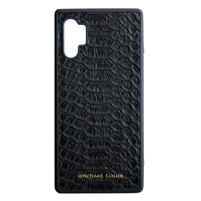 Black Python Galaxy Note 10 Plus Case