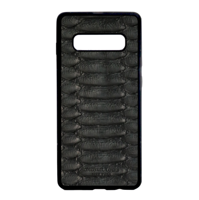 Black Python Galaxy S10 Case
