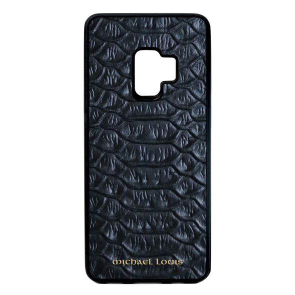 Black Python Galaxy S9 Case