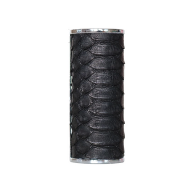 Genuine Black Python Lighter Case