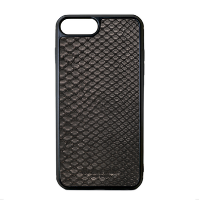 Black Python Snakeskin iPhone 7 Plus / 8 Plus Case
