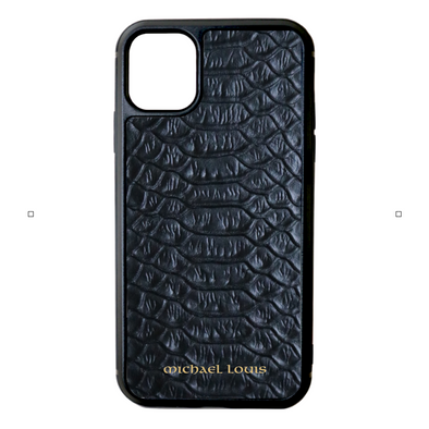 Black Python iPhone 11 Case