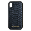 Black Python iPhone XR Case