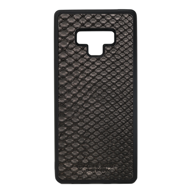 Black Python Snakeskin Galaxy Note 9 Case