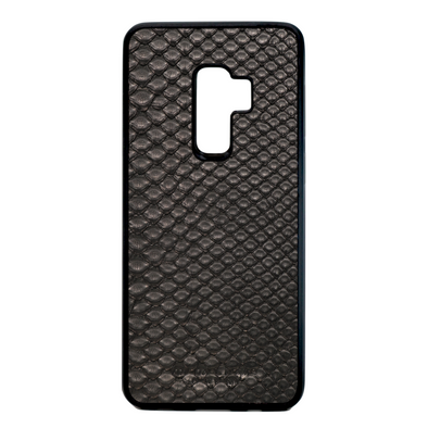 Black Python Snakeskin Galaxy S9 Plus Case