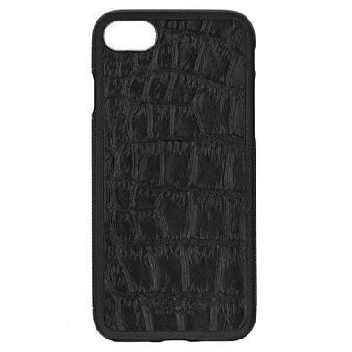 Black Croc Embossed iPhone 7 / 8 Case