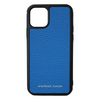 Blue Pebbled Leather iPhone 11 Pro Case