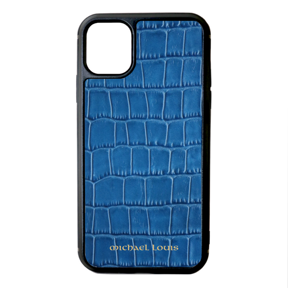 Blue Croc iPhone 11 Case