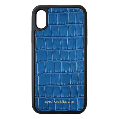 Blue Croc iPhone XS Max Case
