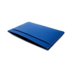 Blue Pebbled Leather Classic Card Holder