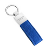 Blue Pebbled Leather Classic Key Holder