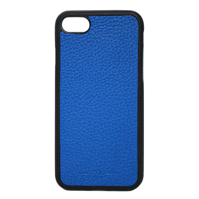 Blue Pebbled Leather iPhone 7 / 8 Case