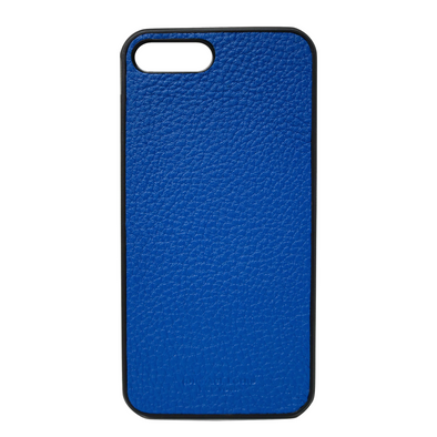 Blue Pebbled Leather iPhone 7 Plus / 8 Plus Case