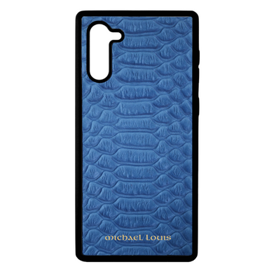 Blue Python Galaxy Note 10 Case