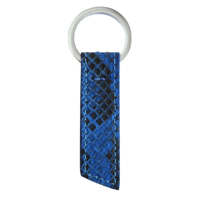 Blue Python Ribbon Key Holder