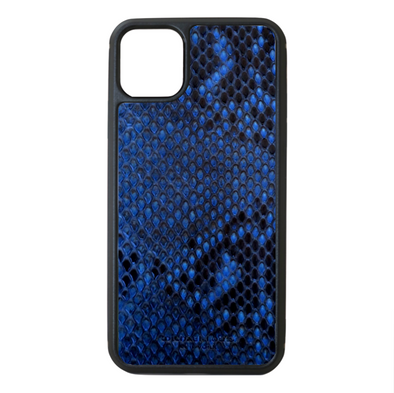 Blue Python Snakeskin iPhone 11 Pro Max Case