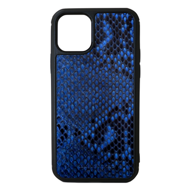 Blue Python Snakeskin iPhone 11 Pro Case