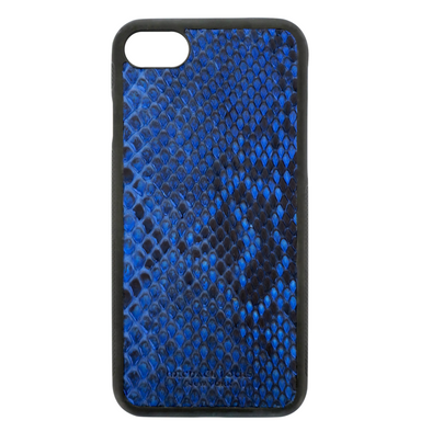 Blue Python Snakeskin iPhone 7 / 8 Case