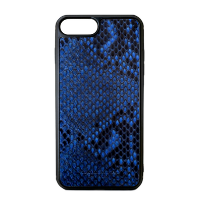 Blue Python Snakeskin iPhone 7 Plus / 8 Plus Case