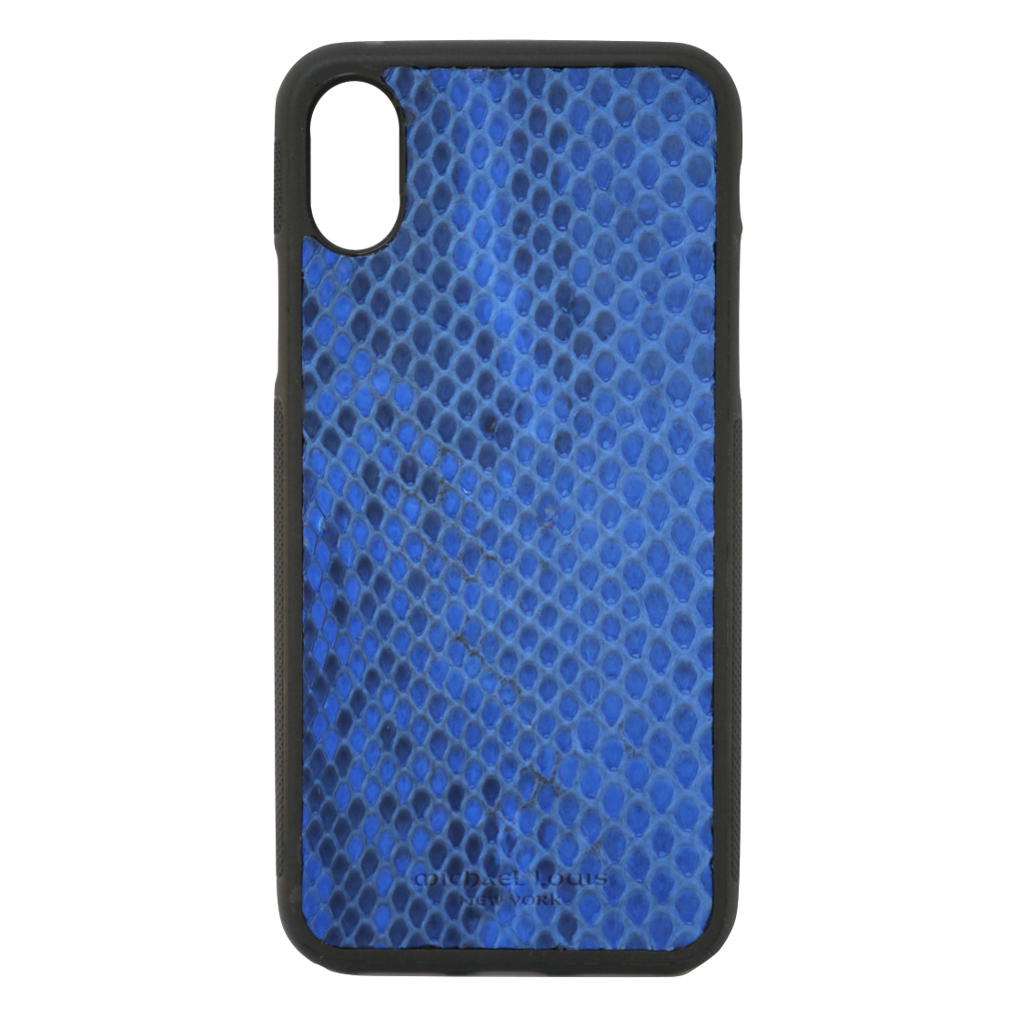 the latest ea71b ea4f6 Blue Python Snakeskin iPhone X/XS Case