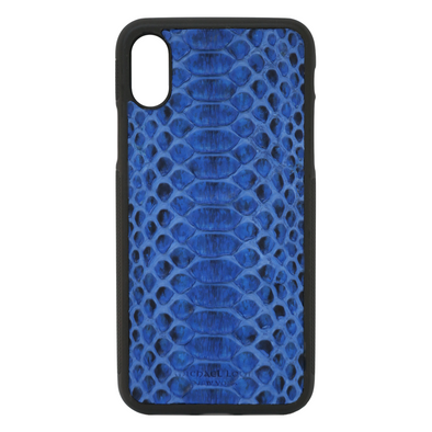 Blue Python iPhone XR Case