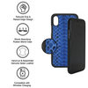 Blue Python iPhone XS Max Case