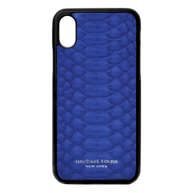 Blue Python iPhone X/XS Case