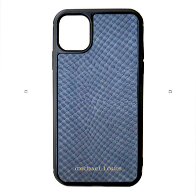 Blue Snake iPhone 11 Case