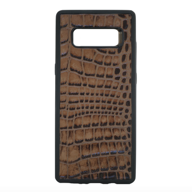 Brown Croc Galaxy Note 8 Case