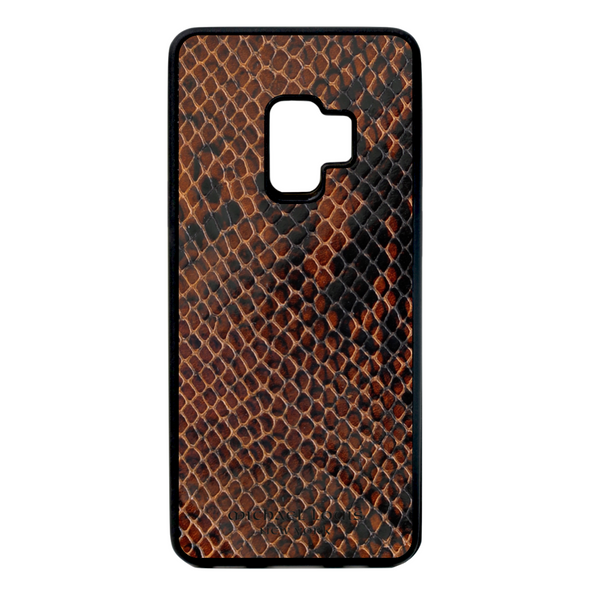 Brown Patent Snake Galaxy S9 Case
