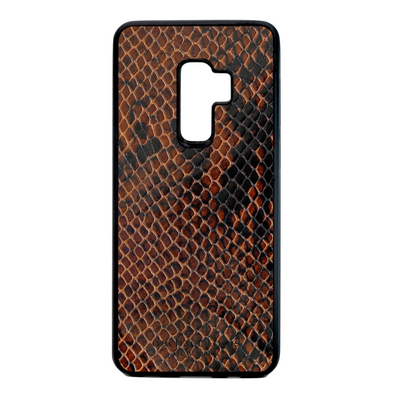 Brown Patent Snake Galaxy S9 Plus Case