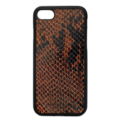 Brown Patent Snake iPhone 7 / 8 Case