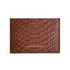 Brown Python Classic Card Holder