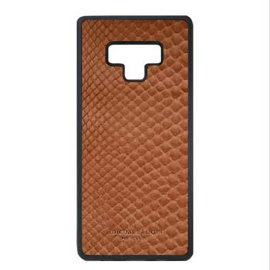 Brown Python Snakeskin Galaxy Note 9 Case