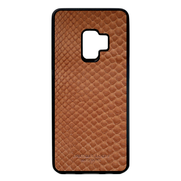 Brown Python Snakeskin Galaxy S9 Case