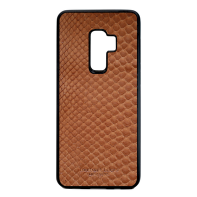 Brown Python Snakeskin Galaxy S9 Plus Case