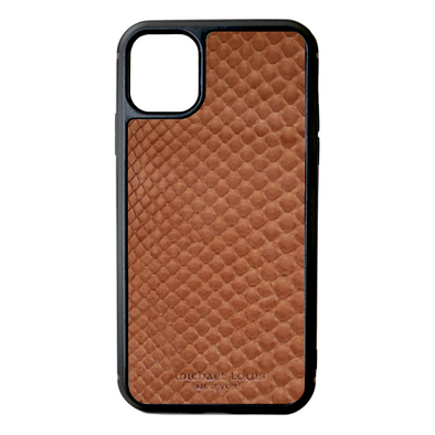 Brown Python Snakeskin iPhone 11 Case