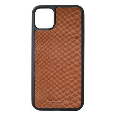 Brown Python Snakeskin iPhone 11 Pro Max Case
