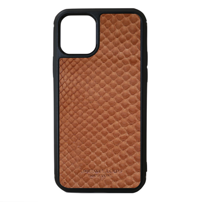 Brown Python Snakeskin iPhone 11 Pro Case
