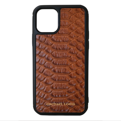 Brown Python iPhone 11 Pro Case
