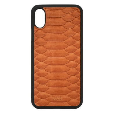 Brown Python iPhone X Case