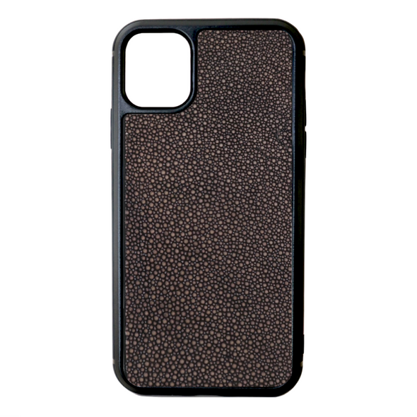 Brown Stingray iPhone 11 Case
