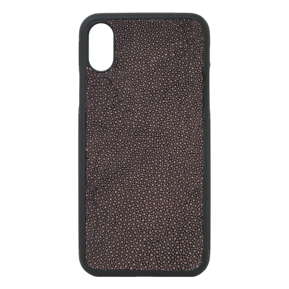 Brown Stingray iPhone X Case