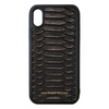 Genuine Black Python iPhone XS Max Case