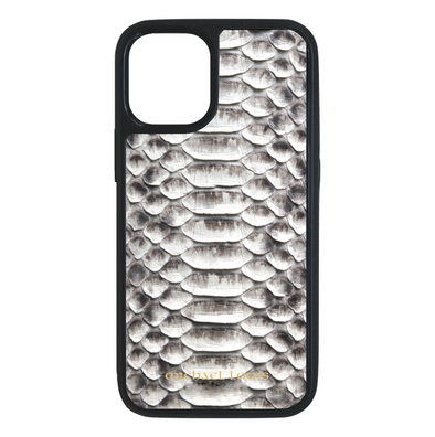 Genuine Natural Python iPhone 12 Mini Case - Michael Louis