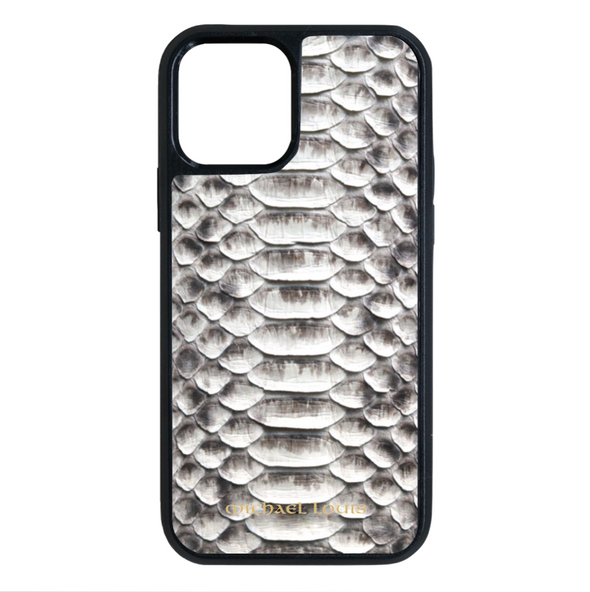 Genuine Natural Python iPhone 12 Pro Max Case